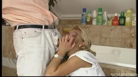 Ass fuck in the bathroom